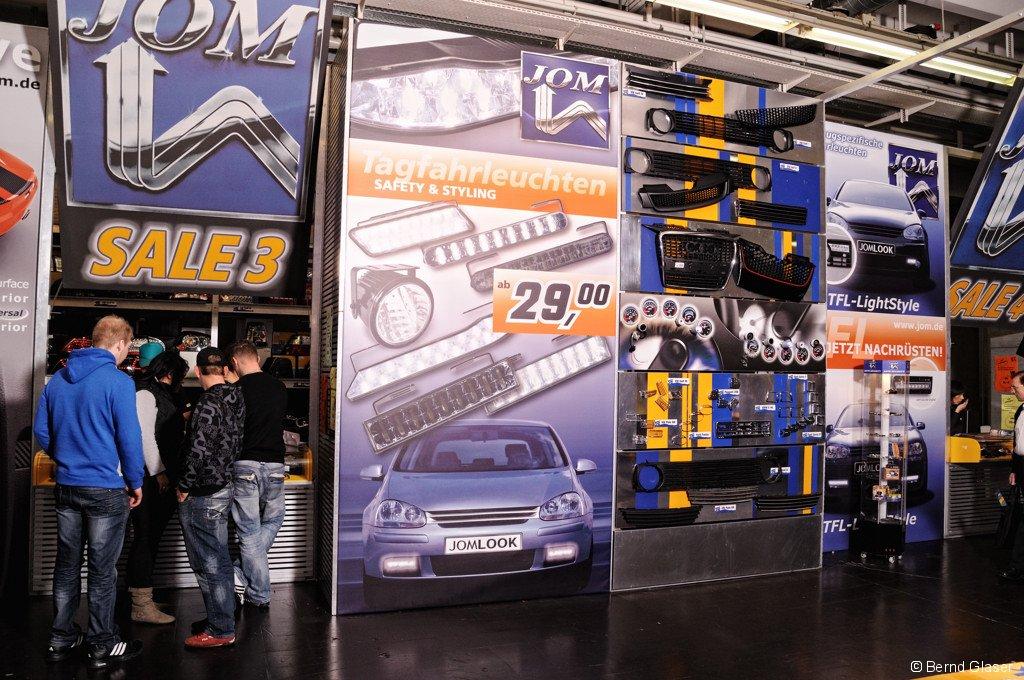 JOM Messestand 2011